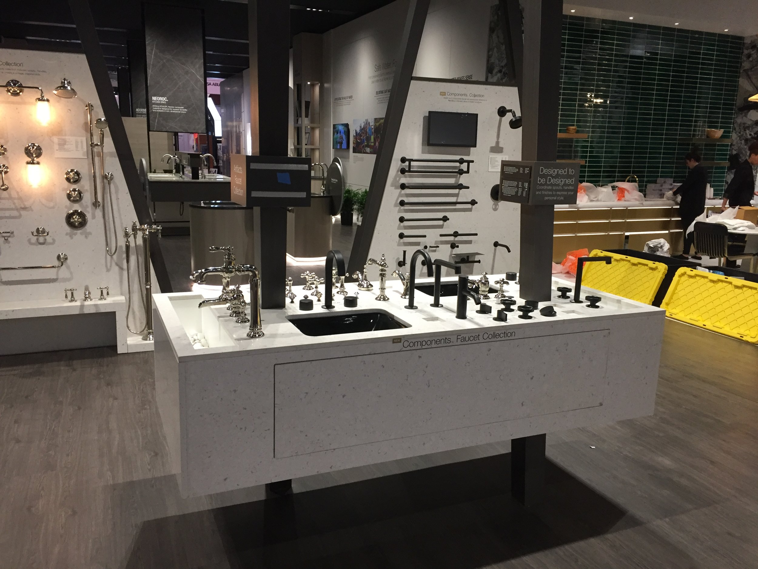Kohler KBIS Faucet Trade Show Display