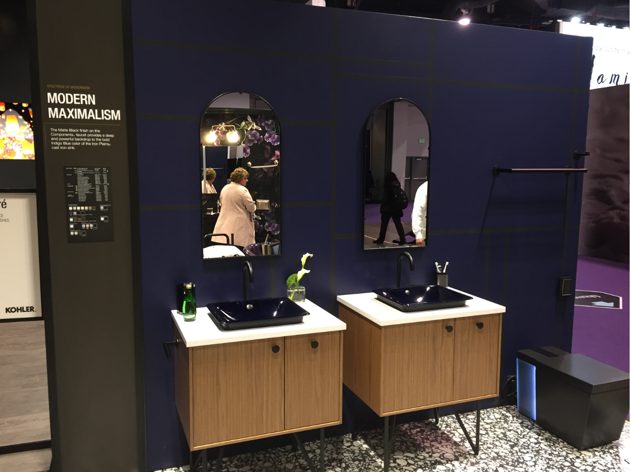 Kohler KBIS Grooming Space - Modern Maximalism Display
