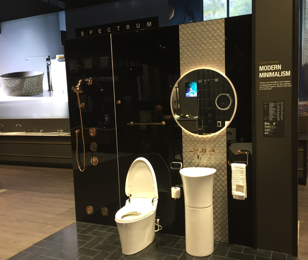 Kohler KBIS Grooming Space - Modern Minimalism Display