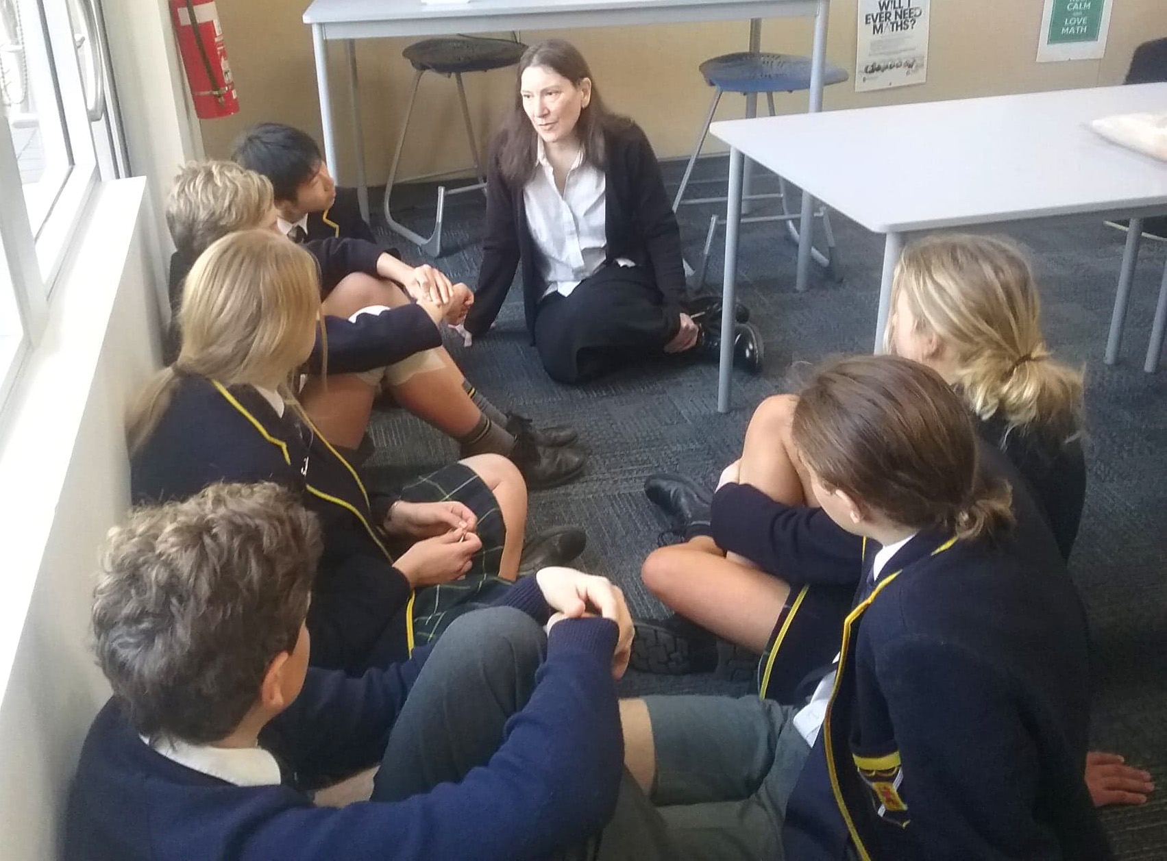 Rachel discussing cultural assumptions