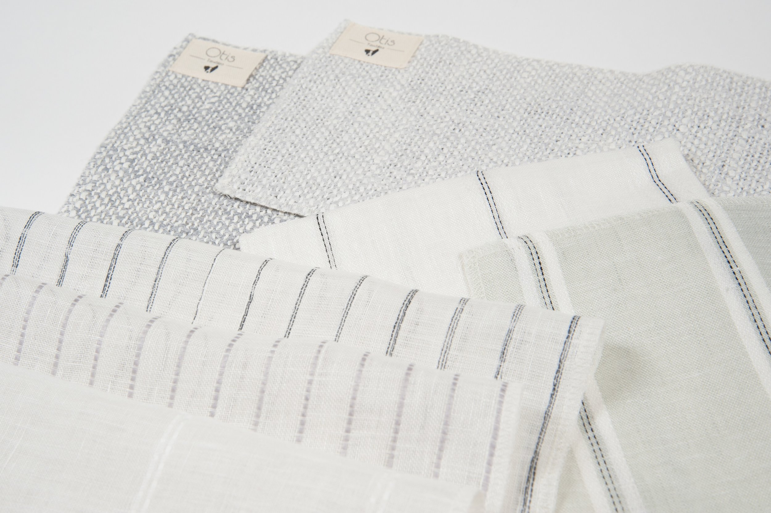 Fabric Samples - Request to open a trade account and receive samples of our first and second collection.
