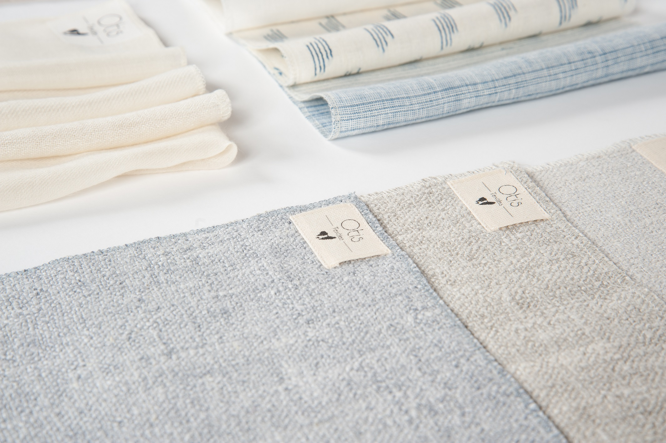 Collection No.2 - Our Winter collection, crafted partly in Italy along with various other mills throughout Europe, offers warm cream sheers accompanied by a selection of drapery and upholstery weight solids synonymous with our first collection.