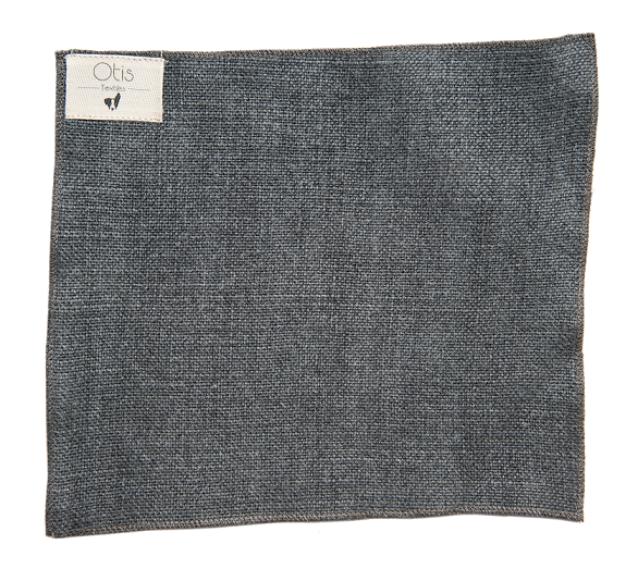 This stone-washed upholstery weight linen has an imperfect weave creating texture and depth. -