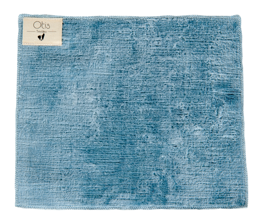 This Linen Velvet, woven in Holland, has a thick soft 100% linen pile. The base is constructed from Cotton. This textured fabric is upholstery ready. -