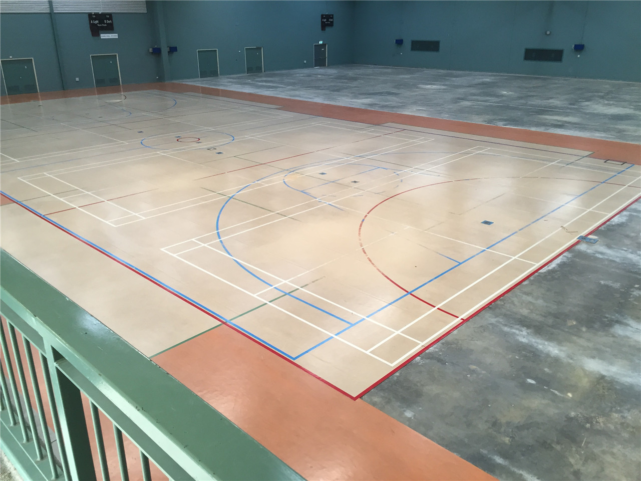 stadium sprung floor