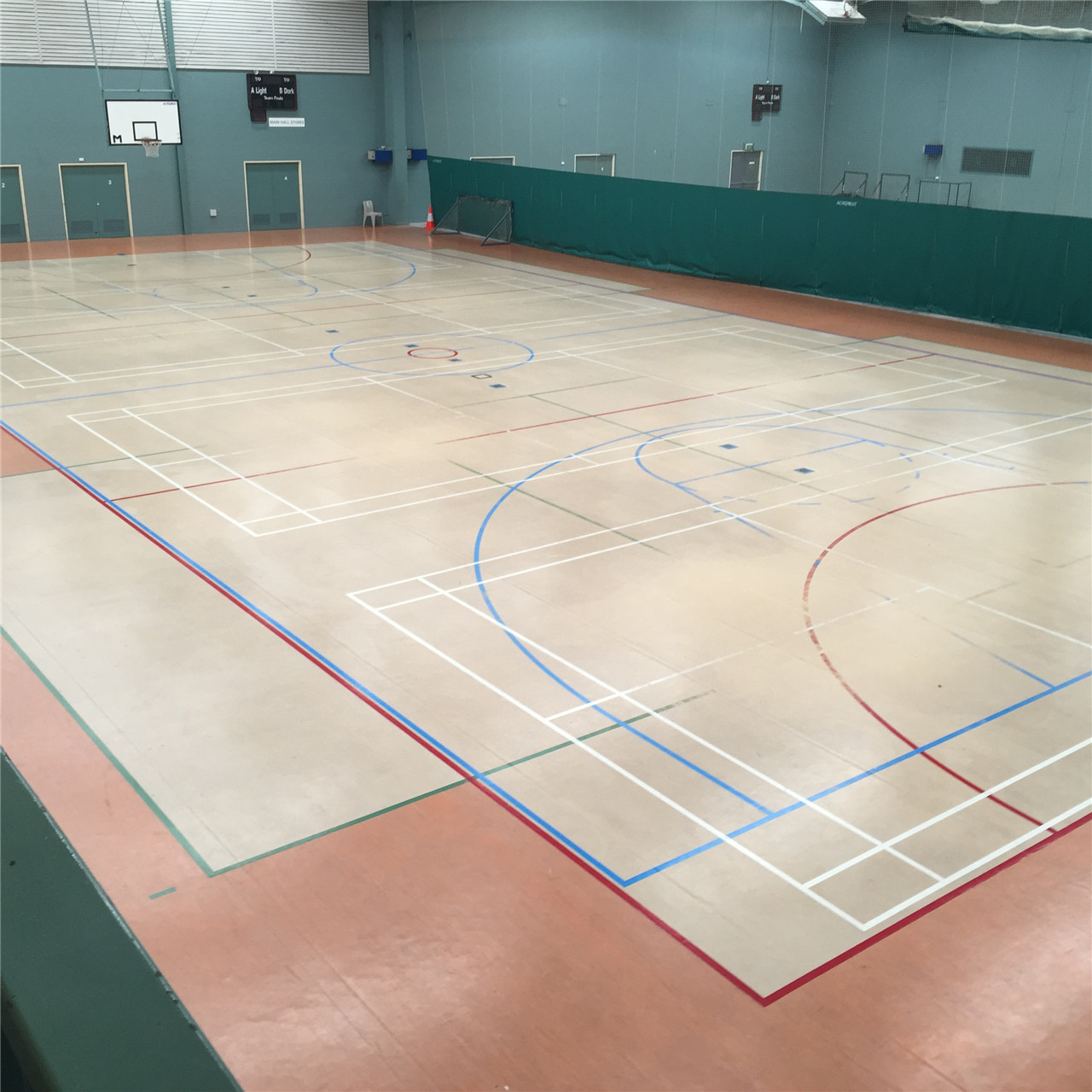 gym sprung floor