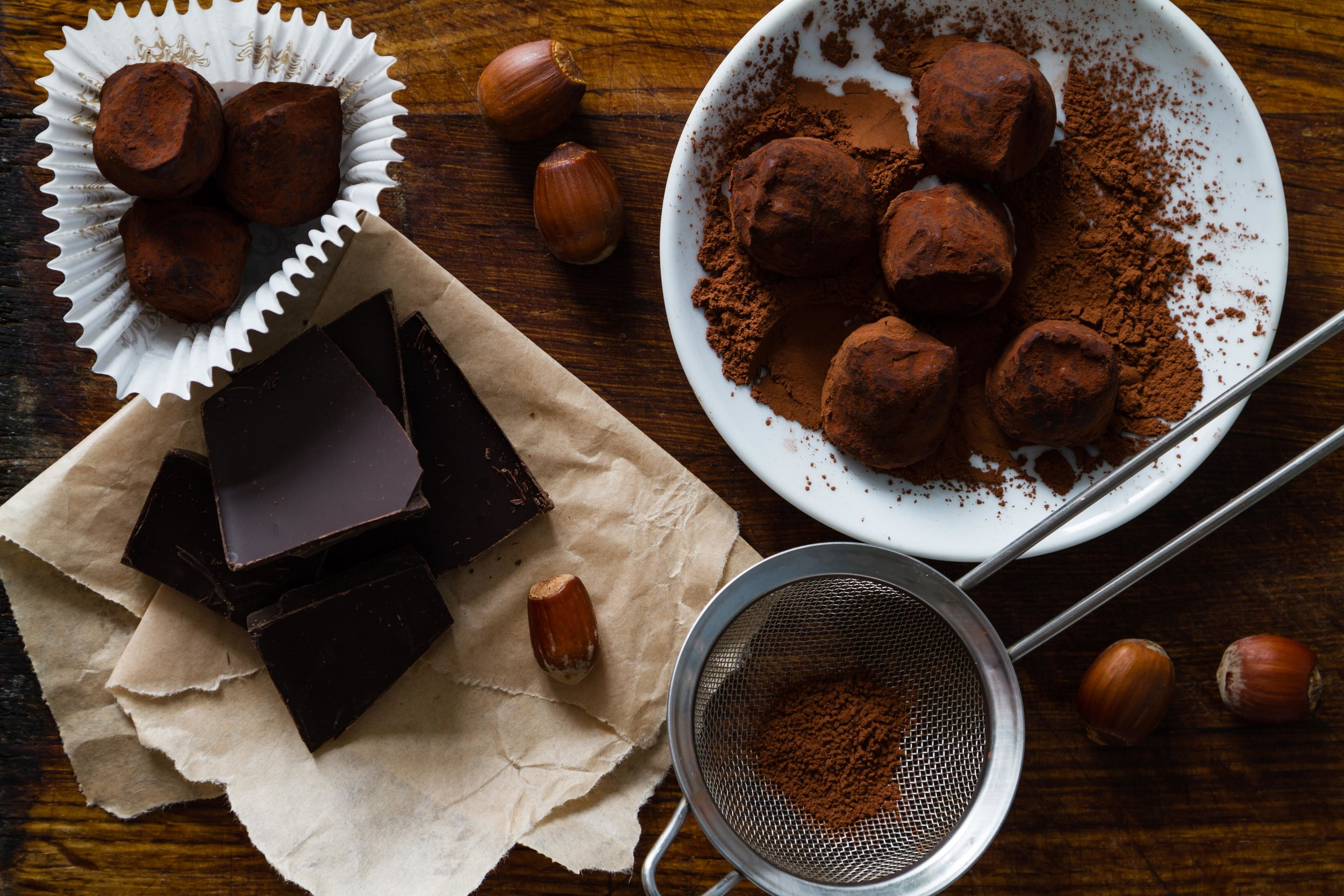 Mayan Chocolate Truffles -