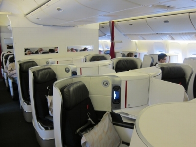 Air france 777 business class
