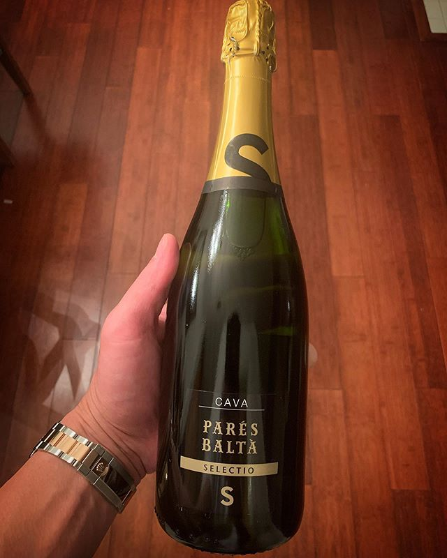 Shipment just came in! We are so excited to share this with our Wine Club members soon! The @paresbalta Selectio Cava was an amazing find from our recent trip to Spain!