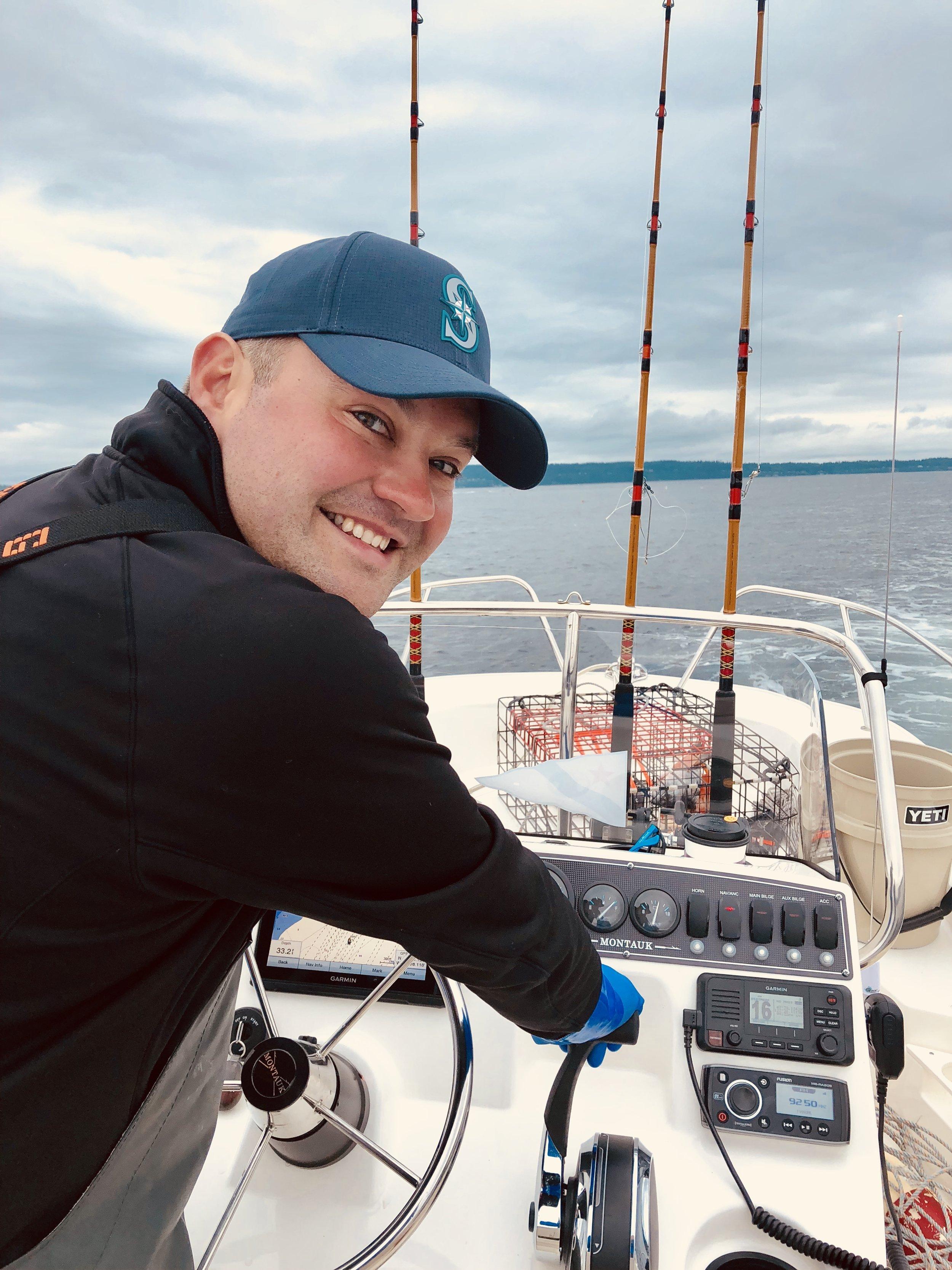 First day of crabbing season 2018. -