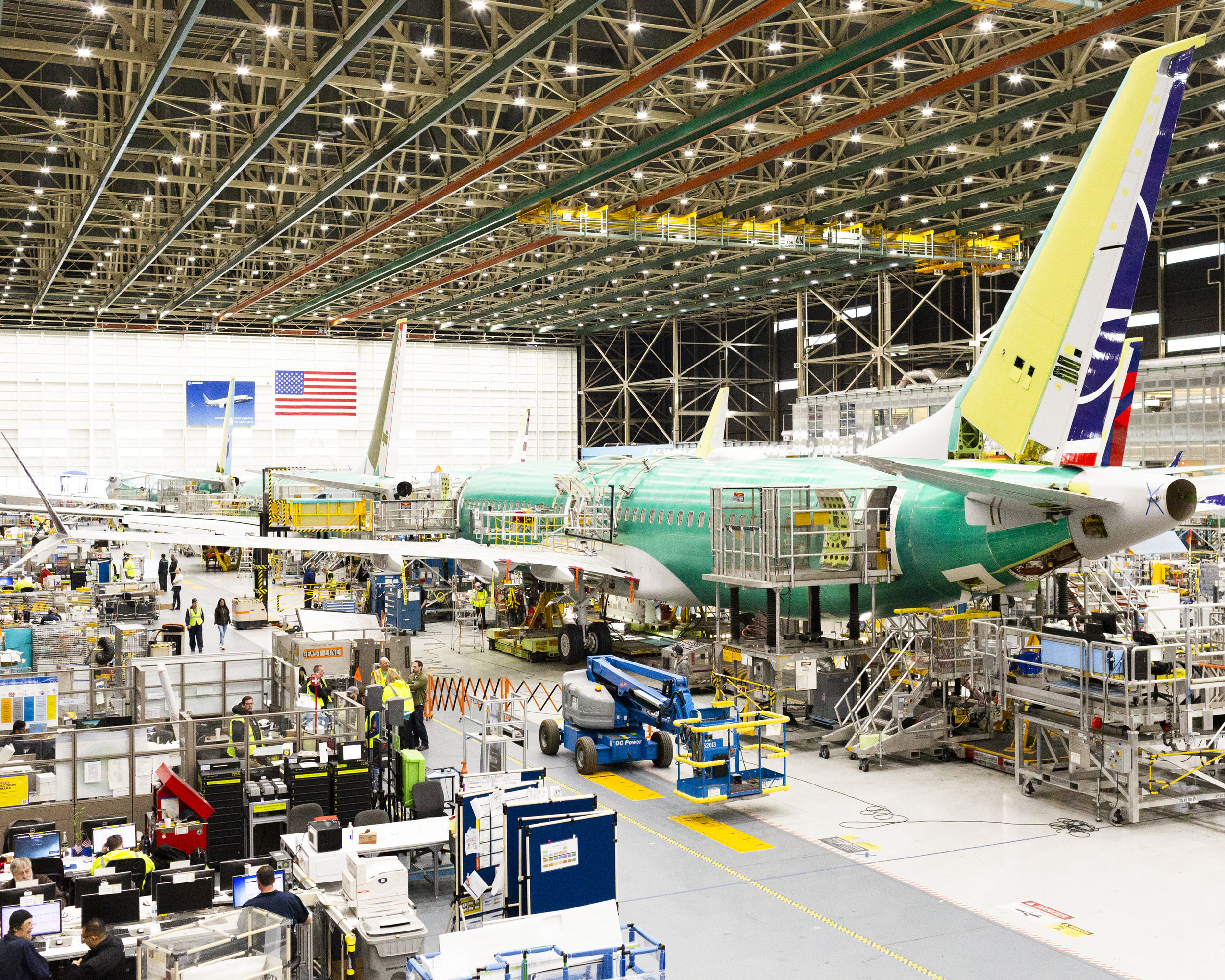 Boeing 737 MAX Assembly Plant for NPR