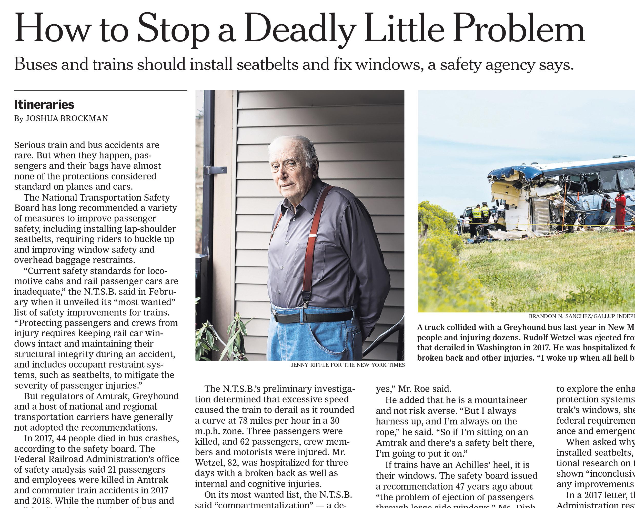 Rudolf Wetzel for The New York Times, April 9, 2019