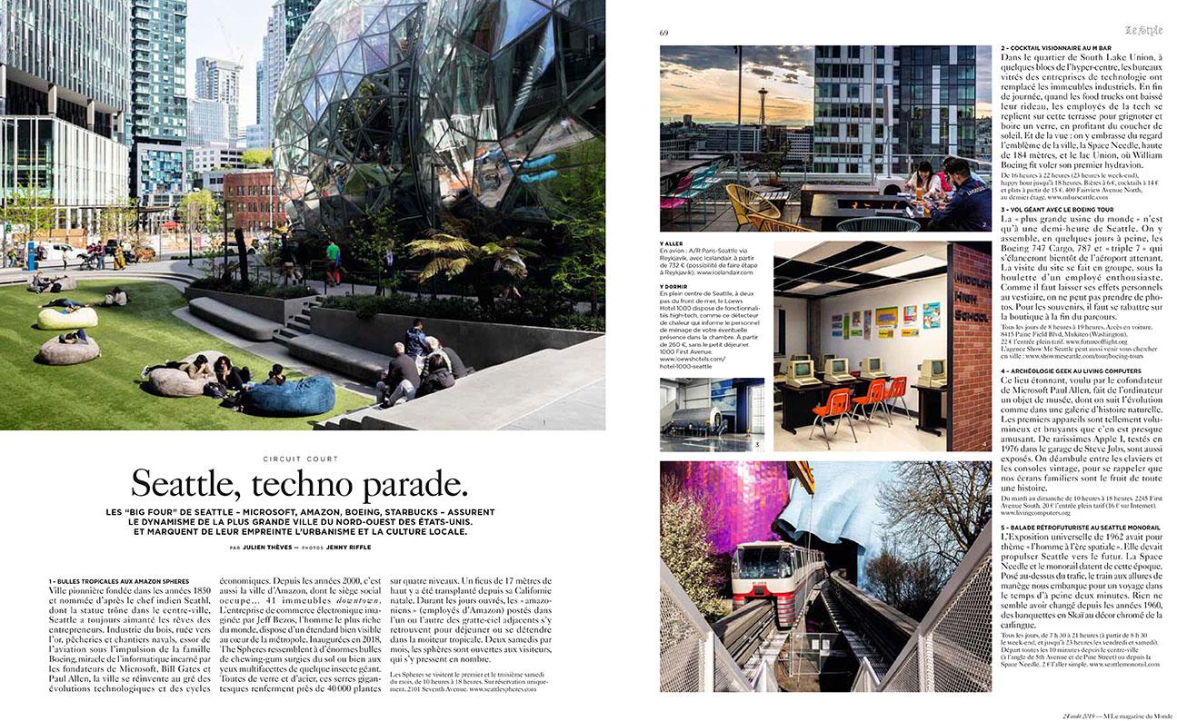 Seattle for M Le magazine du Monde