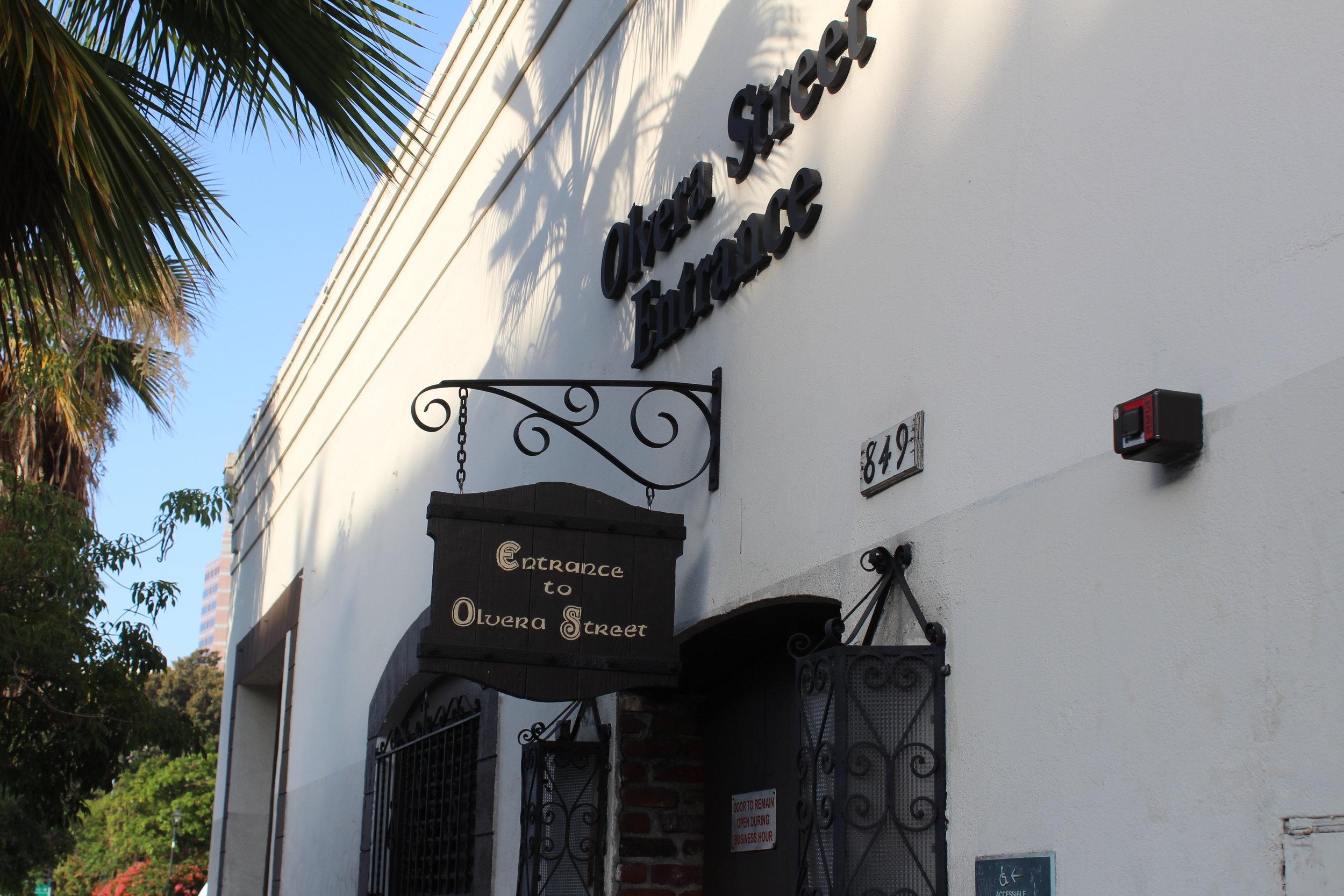 El Pueblo Winery on Olvera Street