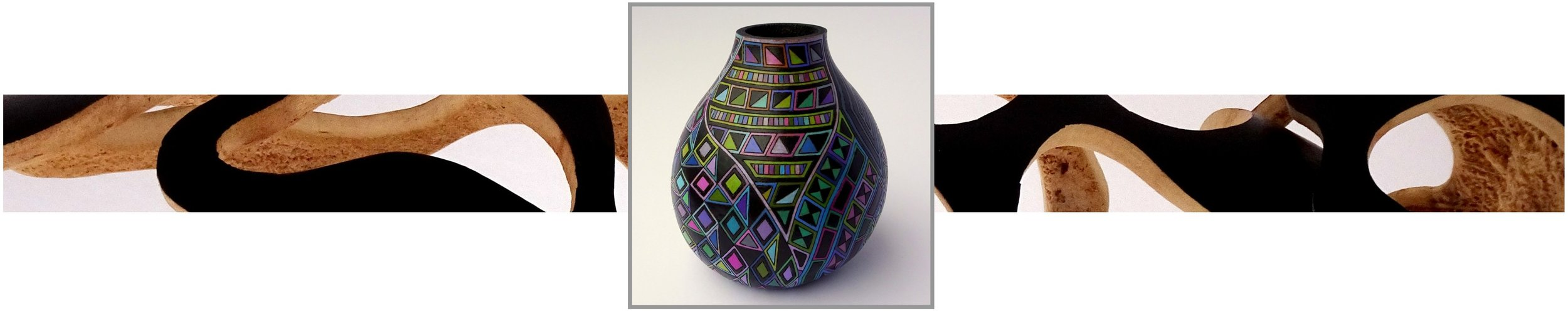 BARBARA SYBURG - Painted & Sculpted Fine Art Gourds