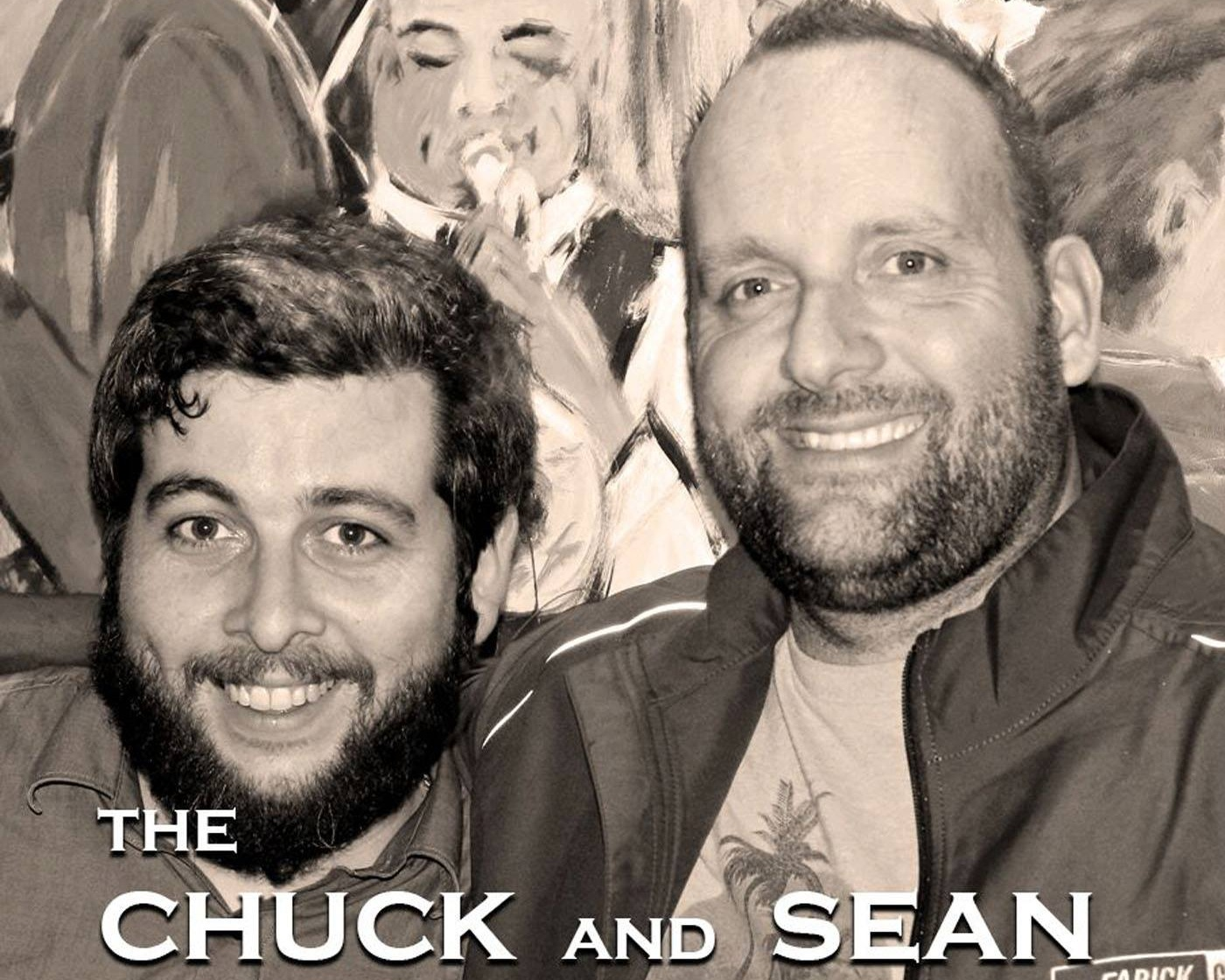 Chuck on the left and Sean on the right, but we're both Bones.