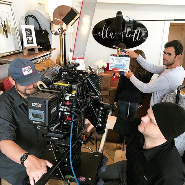 55° Mostly Cloudy   Commercial shoot with #lightstrikeproductions // #arrialexa #arrialexamini #arriultraprime #beachtek #antonbauer #sachtler #smallhd #danadolly #houstonfilmcrew