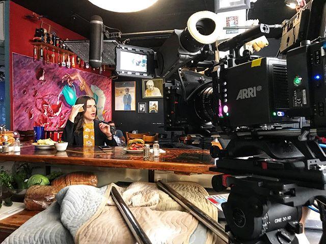 55° Mostly Cloudy   Commercial shoot with #lightstrikeproductions // #arrialexa #arrialexamini #arriultraprime #beachtek #sachtler #danadolly #houstonfilmcrew