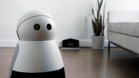 写真は、TechCrunch ' Kuri the adorable home robot starts shipping to pre-order customers '