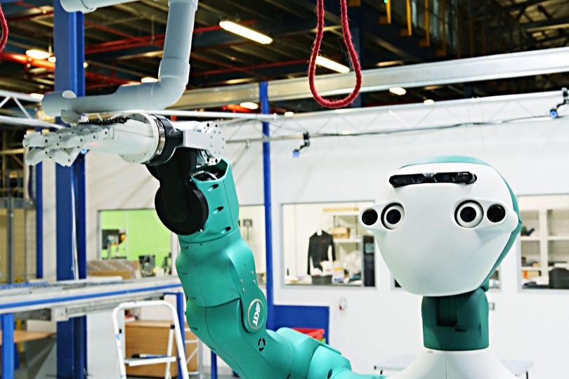 "Wired "" Ocado's collaborative robot is getting closer to factory work """