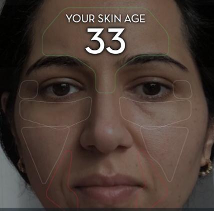 写真は、bueatyTidbits ' Want to Find Out Your Real Skin Age? Try Olay Skin Advisor!