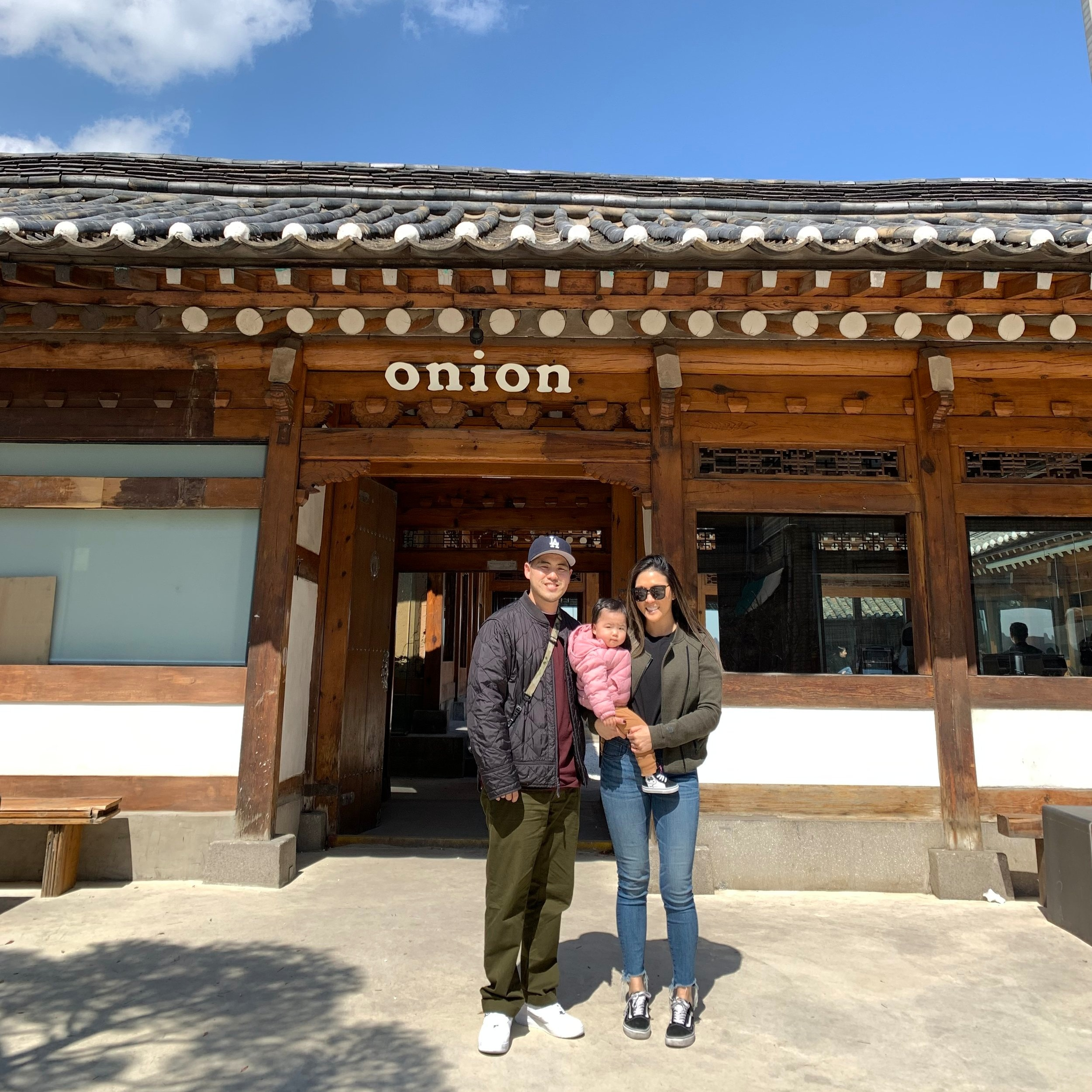 Onion located in Insadong is a Hanok cafe known for their exquisite pastries.
