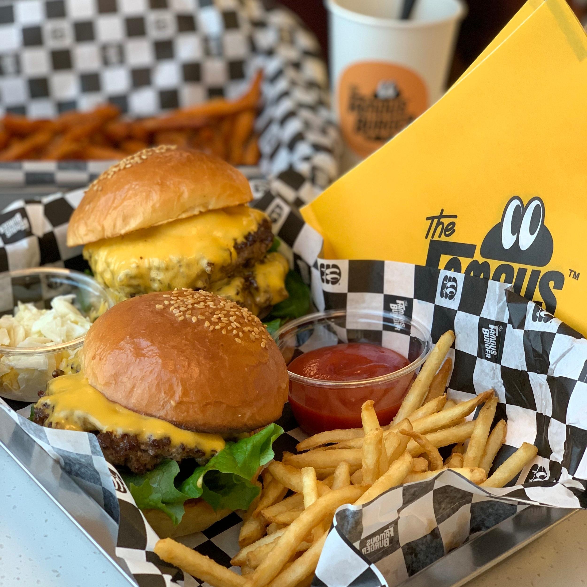 Famous Burger located in Hongdae