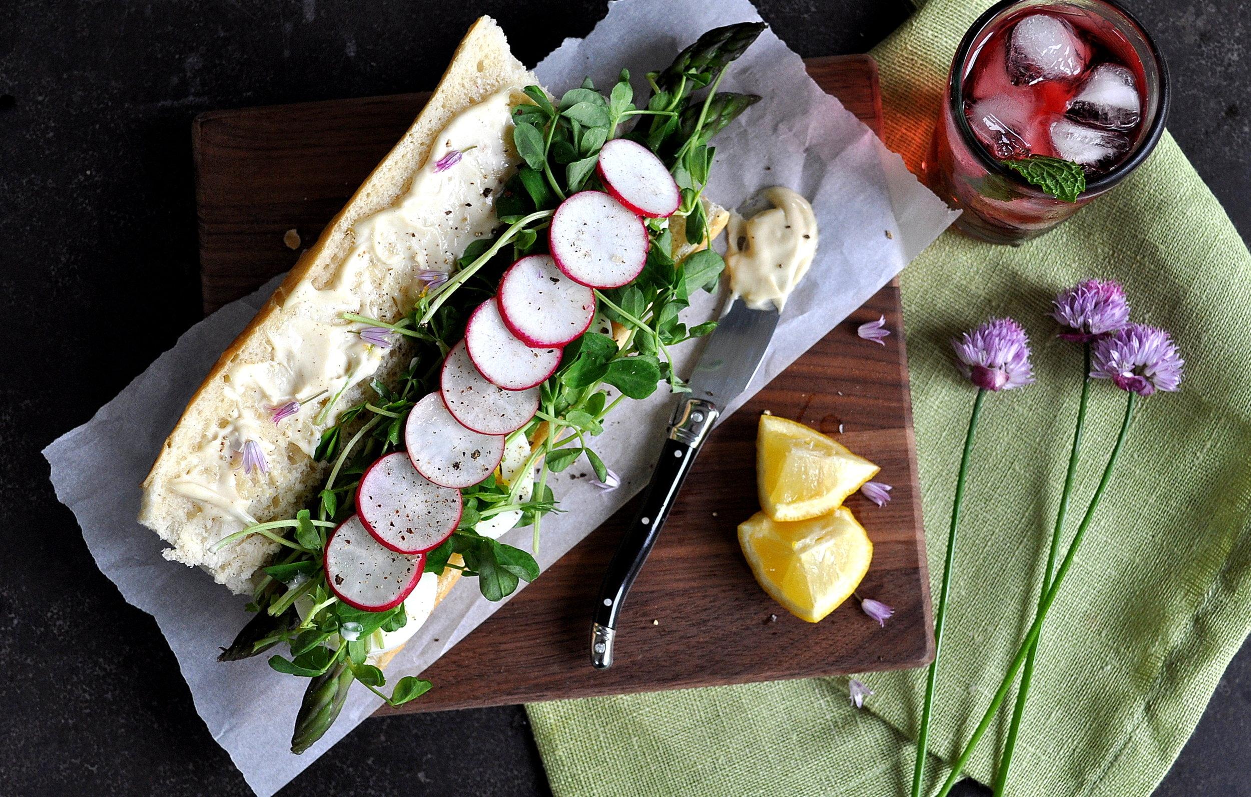 A Spring Sandwich