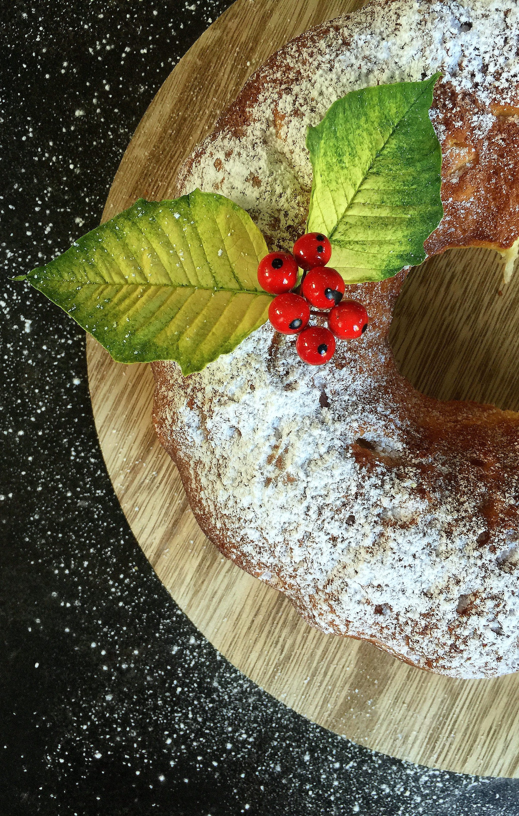 yeast raised vanilla orange bundt cake