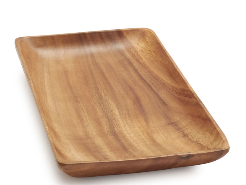 Acadia Wood Serving Platter - Sur La Table