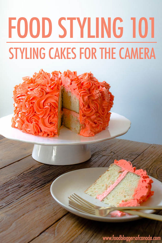 Food Styling: Styling Cakes For The Camera - In our Food Styling 101 series, Lisa Bolton shows you techniques for conveying the stories you want your food to tell. Her advice will help you create food photography that entices readers to make your recipes and read your articles. This month she shares her tips on how to food style cakes even if you aren't an experienced cake decorator!