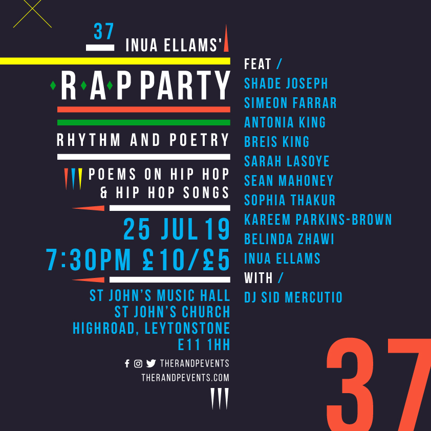 Events — The R A P Party