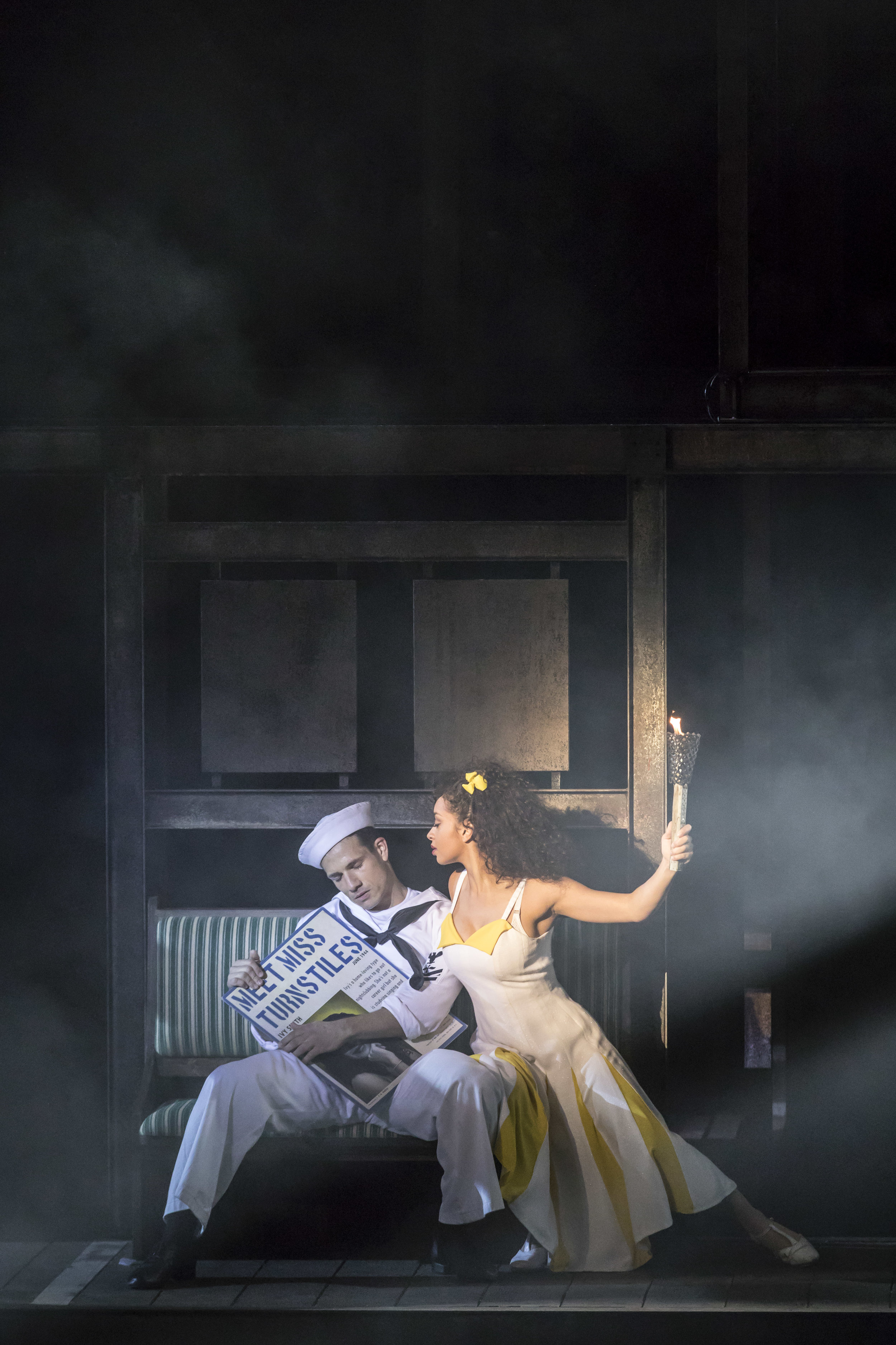 1. Danny Mac and Siena Kelly as Gabey and Ivy. Photo Johan Persson..jpg