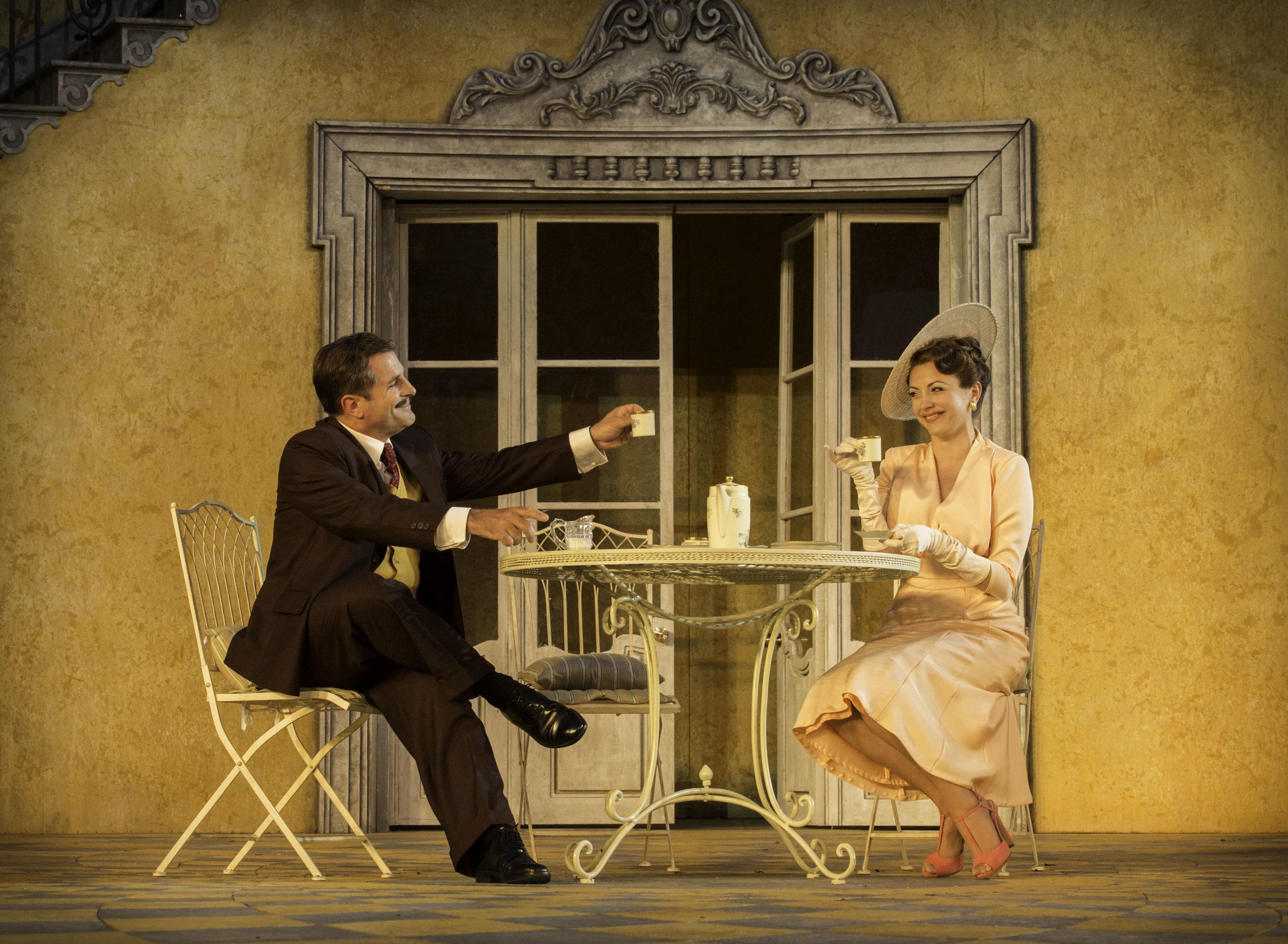 4. Michael Matus and Caroline Keiff as Max and Elsa. Photo Johan Persson.jpg