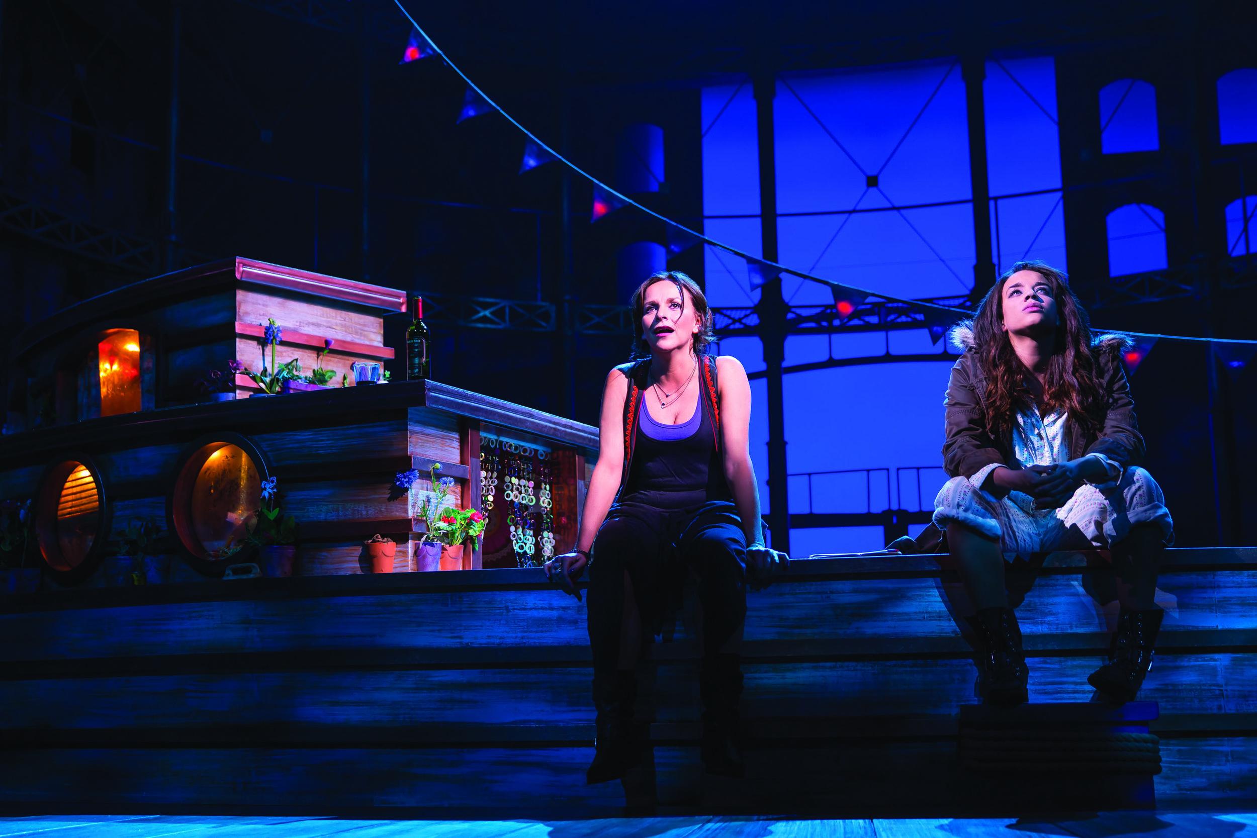 7. VIVA FOREVER!_9 Lauren (Sally Ann Triplett) and Viva (Hannah John-Kamen).jpg