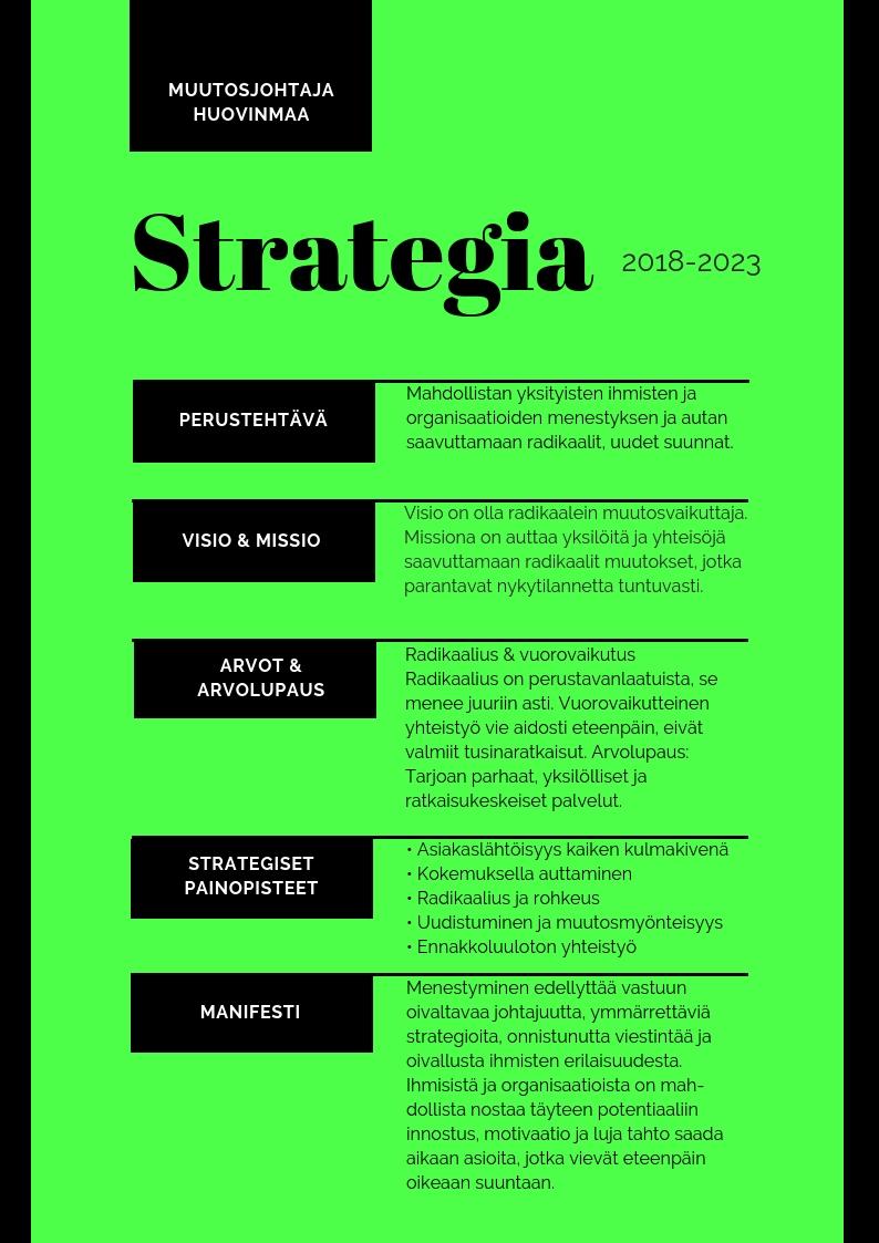 Strategia 2018-2023
