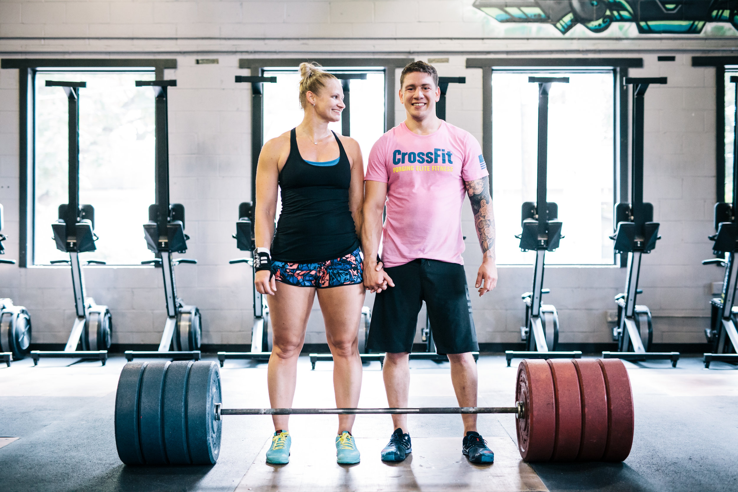 crossfit couple