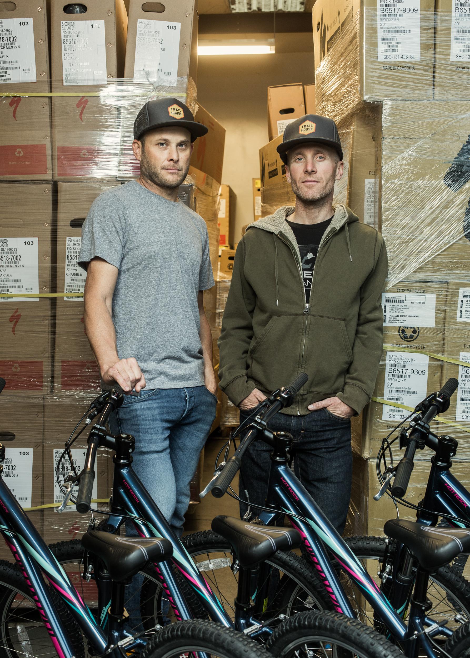 Glenn Fant & Levi Leipheimer -