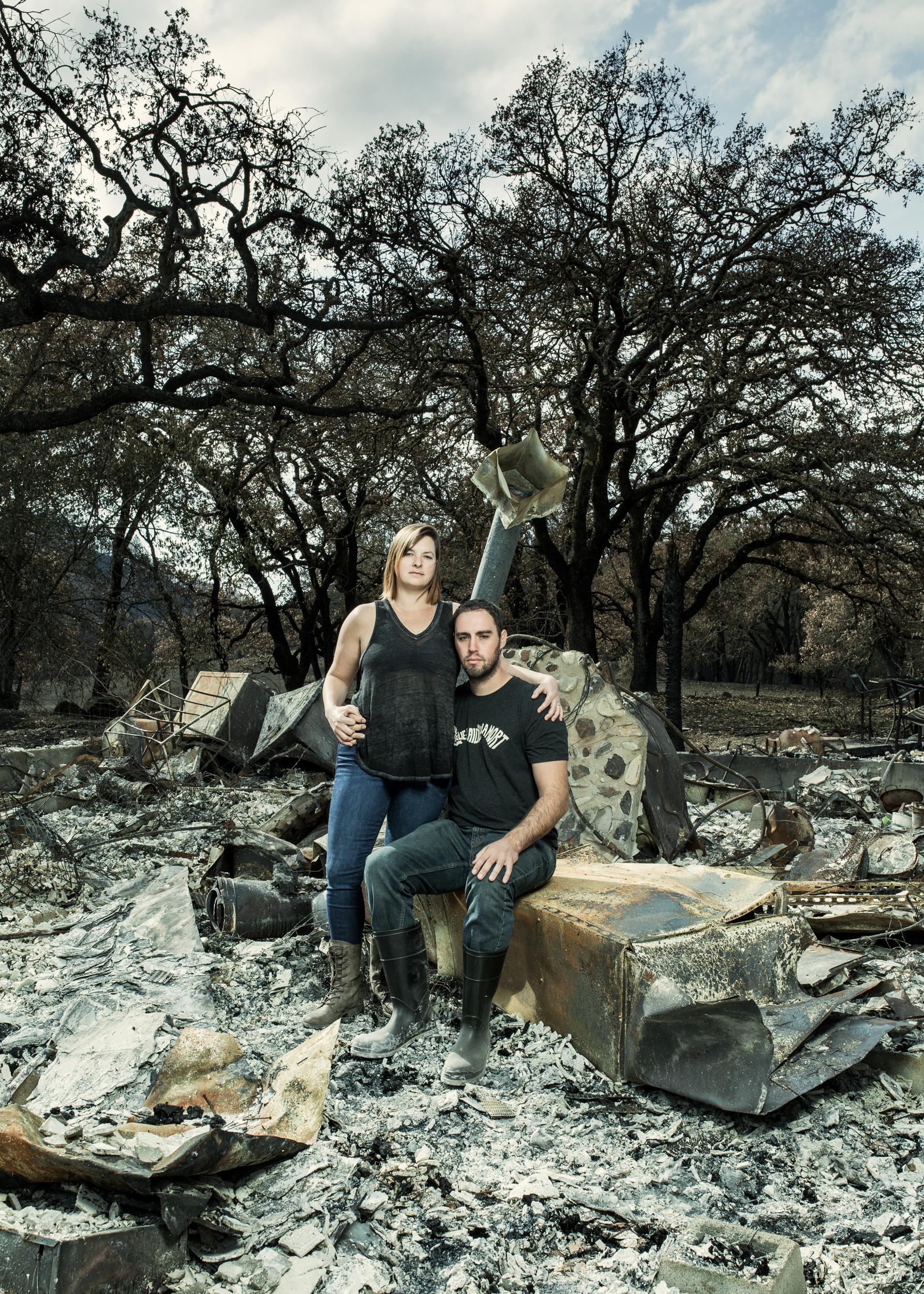Hannah Chort and Chris Hollingsworth -