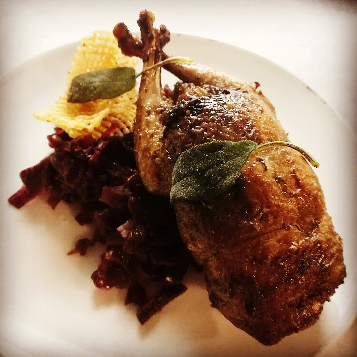 Grouse with Red Cabbage and Game Chips.jpg