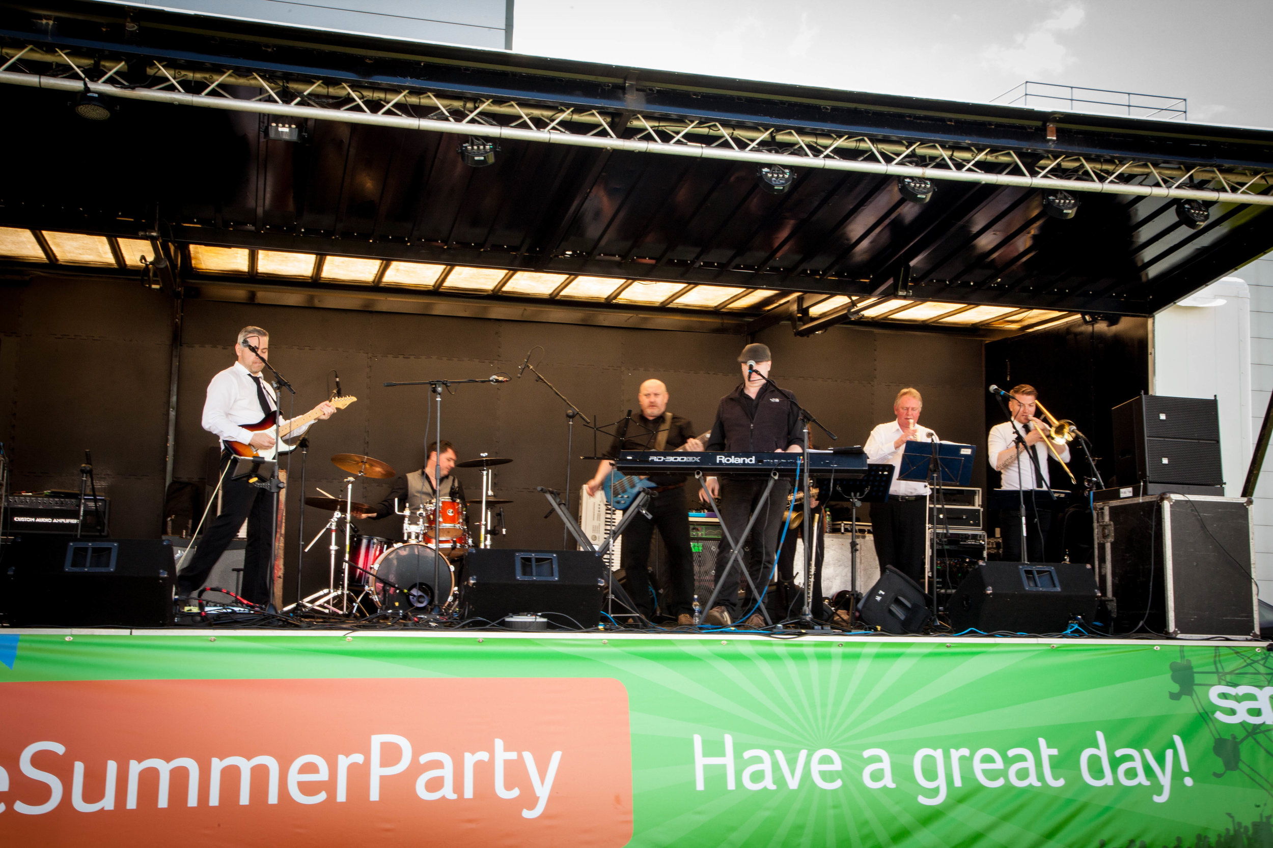 Stage Hire Events -