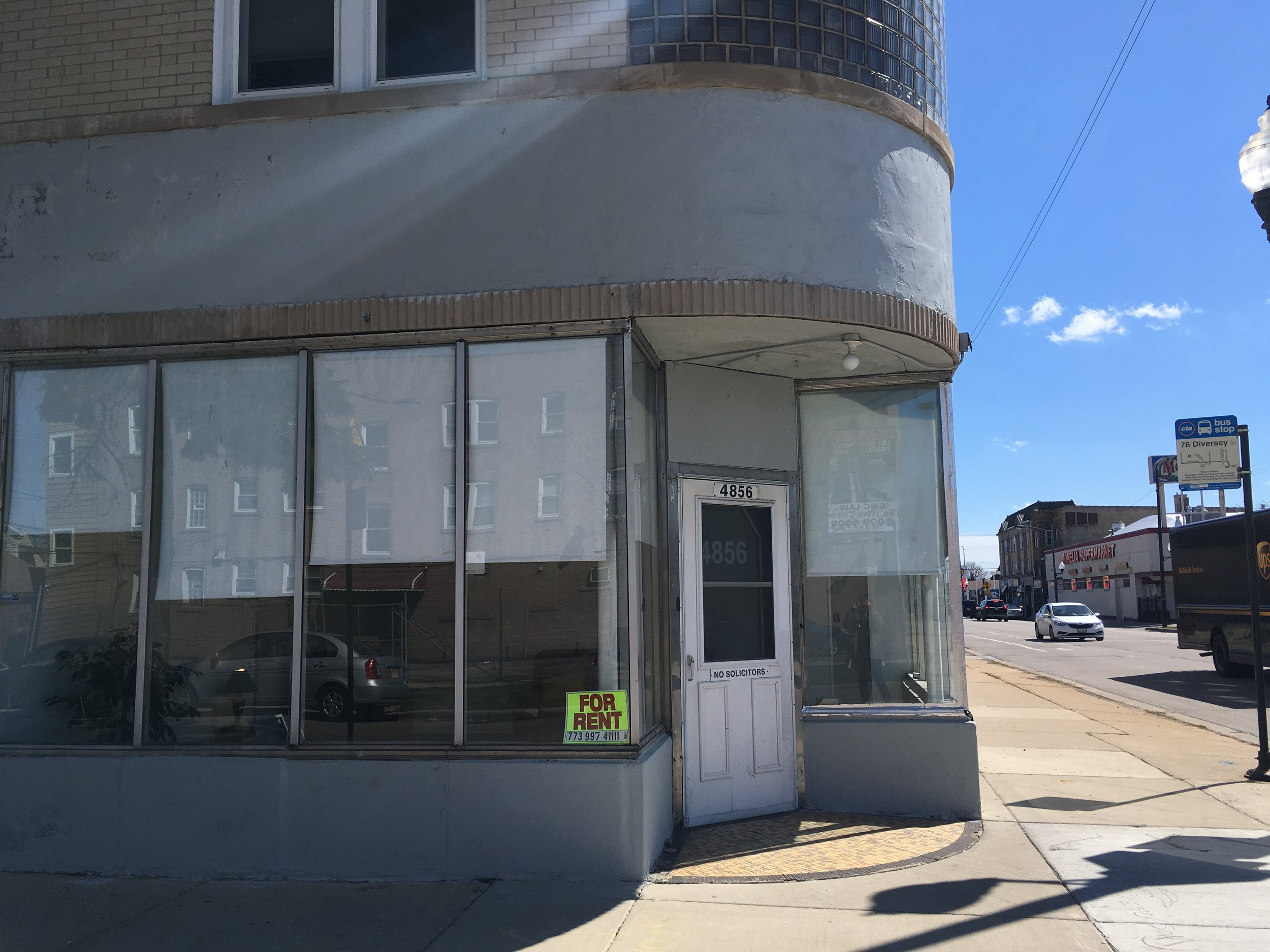 4856 W. Diversey Ave |  Call  773-997-4111