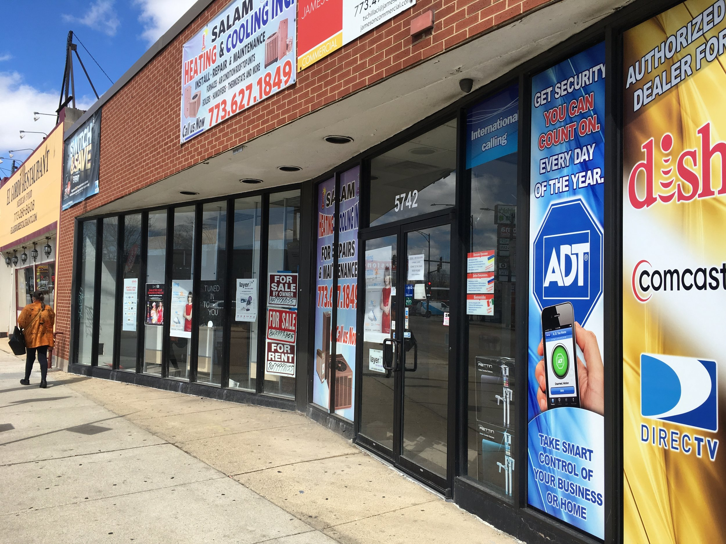 5724 W. Belmont Ave.    Call  847-999-8155