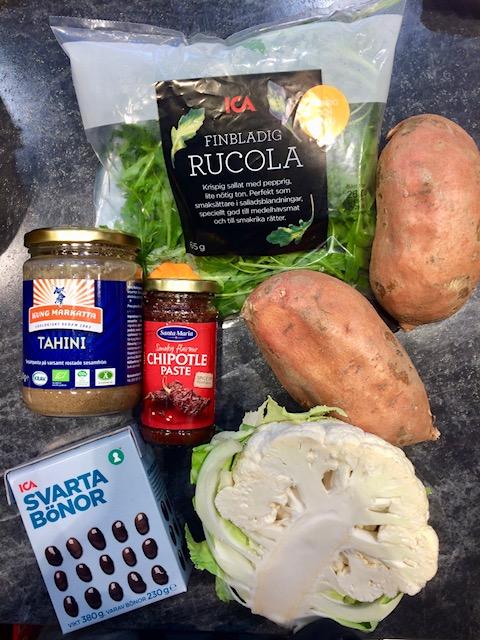 Enkelt med få ingredienser, så som vi gillar det!