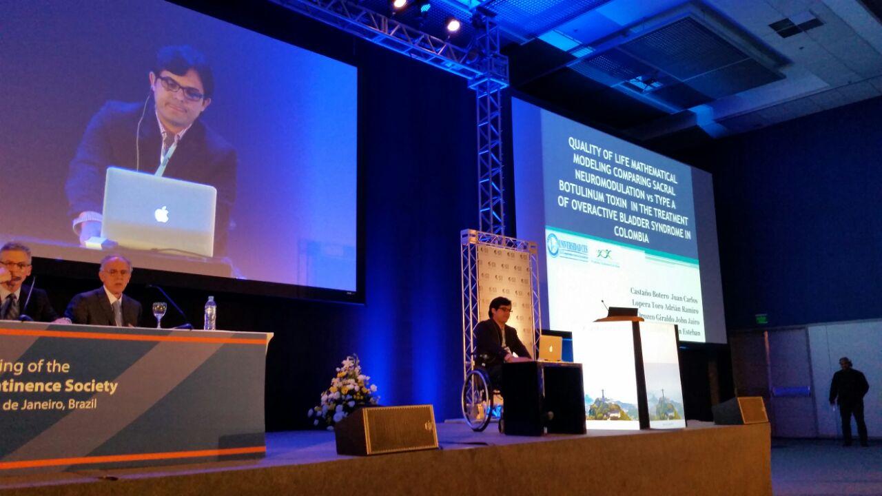 International Continence Society annual meeting. Rio de Janeiro. October 2014.