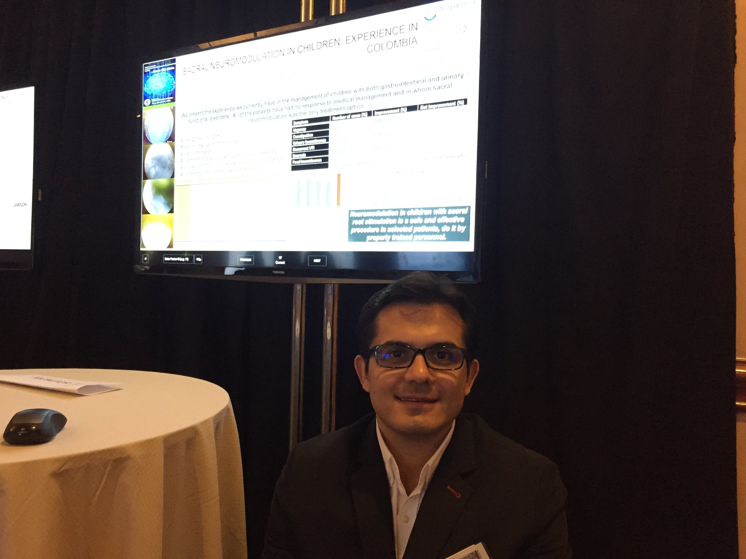 North American Neuromodulation Society annual meeting. Las Vegas, EEUU. December 2014