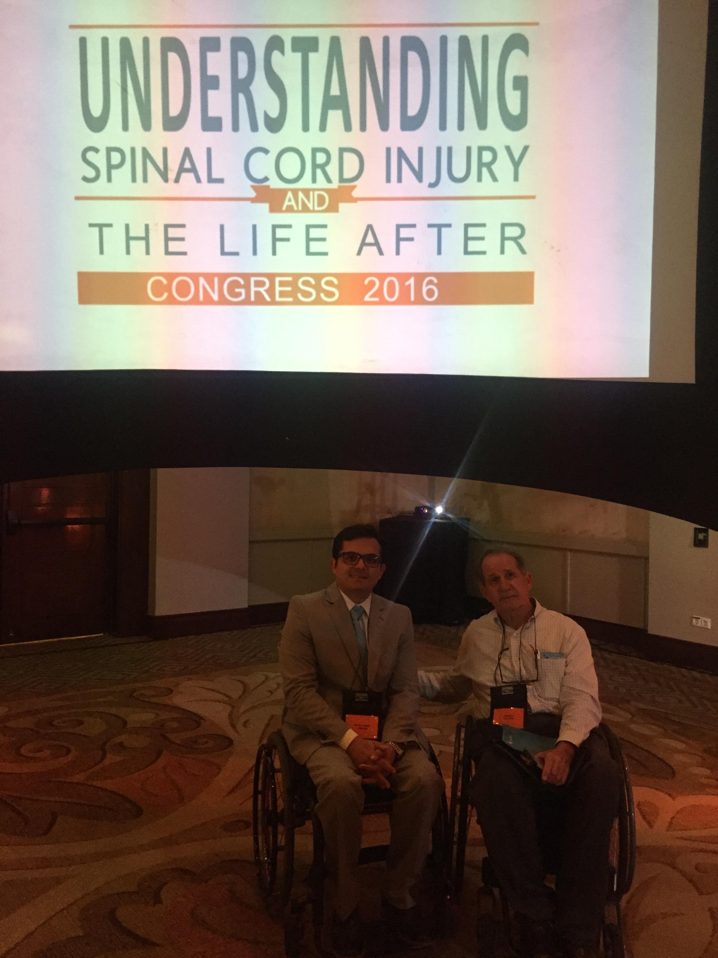 Understanding spinal cord injury congress 2016.