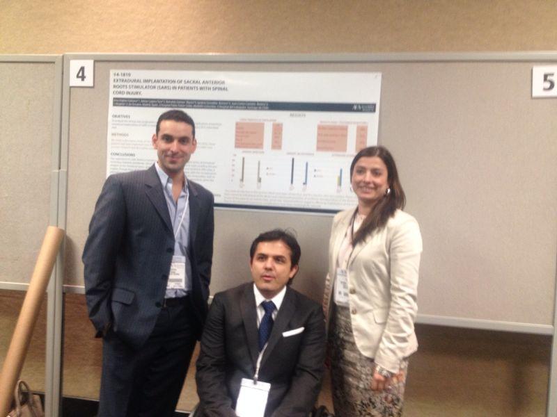 Poster presentation. American urology association. Orlando, EEUU. 2014