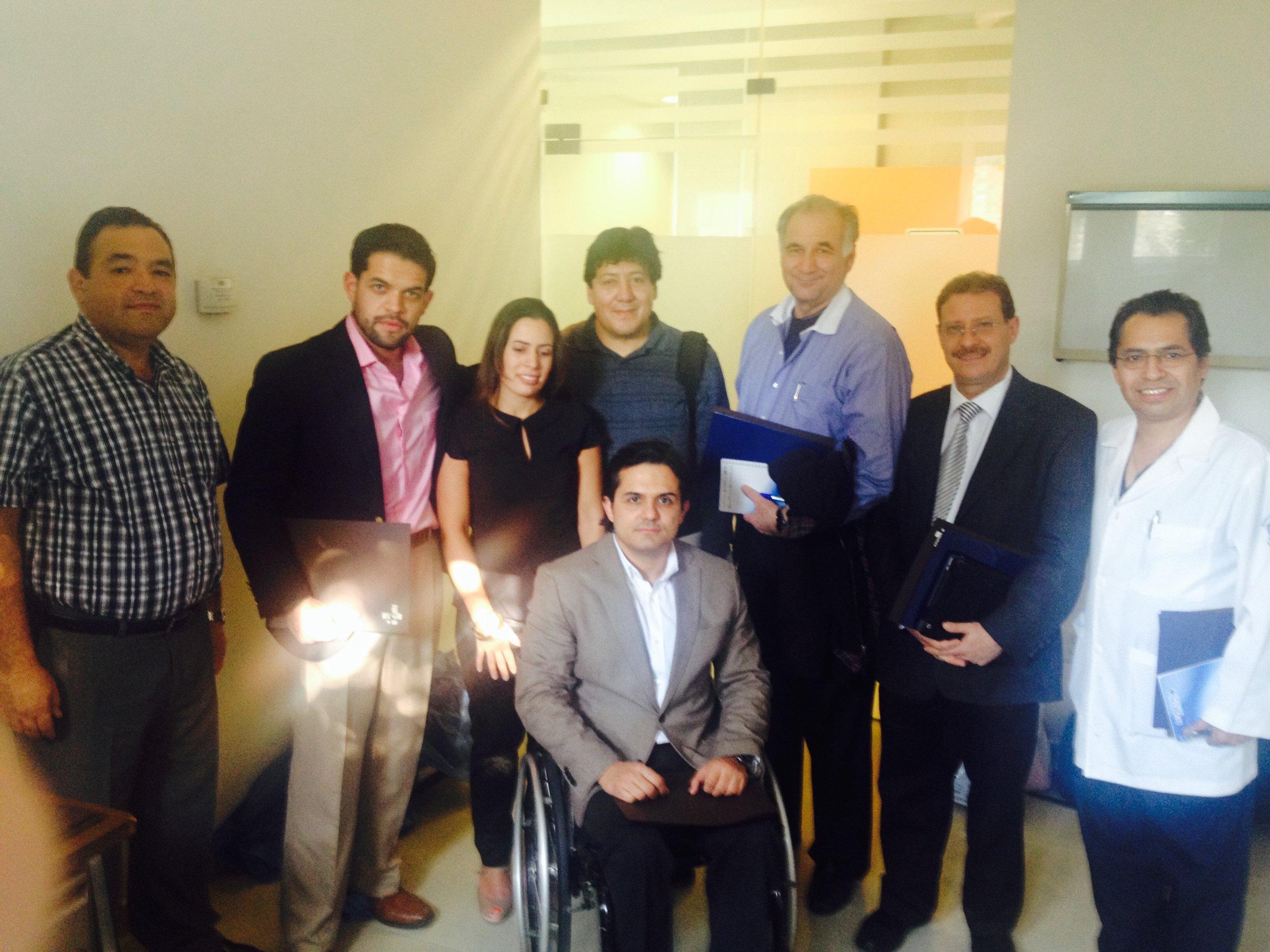 Primer curso taller internacional implantación de sars práctica en cadaveres. Instituto de medicina legal. Ciudad de México. 2014