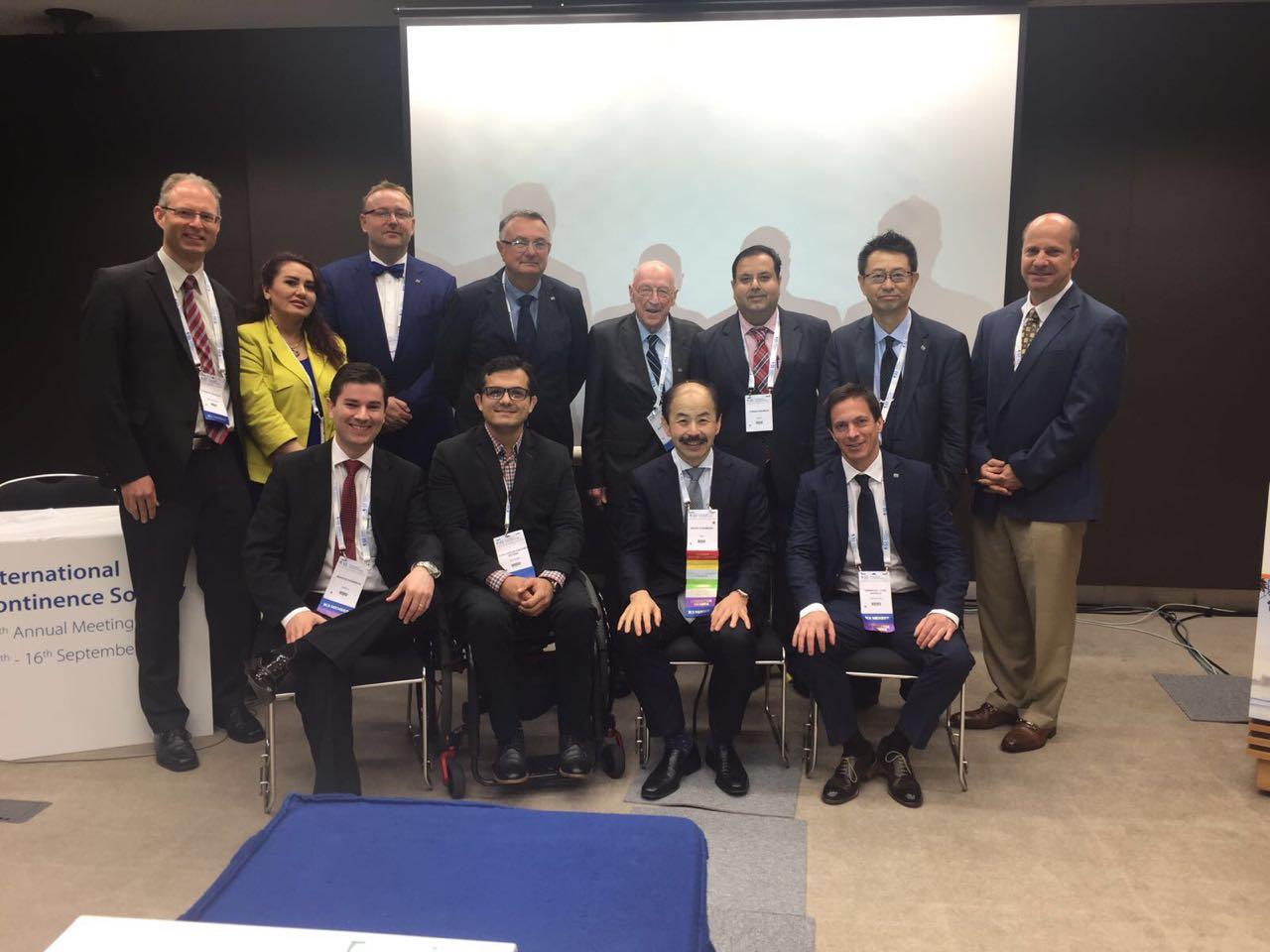 International Continence Society, INUS session. Tokio, Japan. 2016